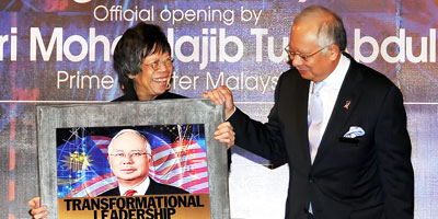 The 'Malaysia: Innovation Nation' convention launched by Dato' Sri Mohd Najib Tun Abdul Razak on 20 July 2010